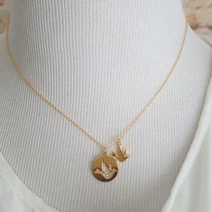 new kate spade Bird Pendant Necklace